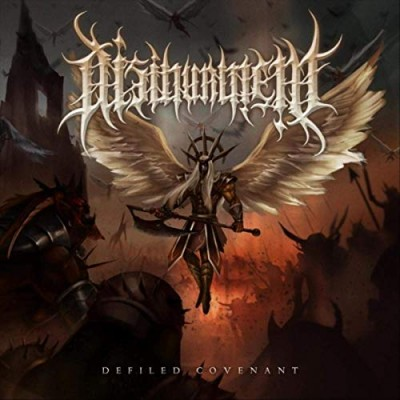 Disinterment // Defiled-Covenant - album cover
