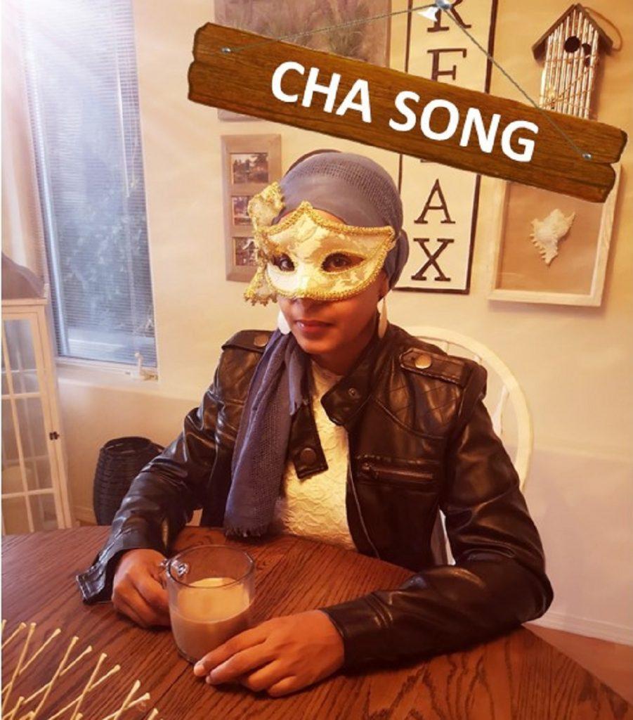 "Mystik Kaur // ""The Cha Song"" - cover art"