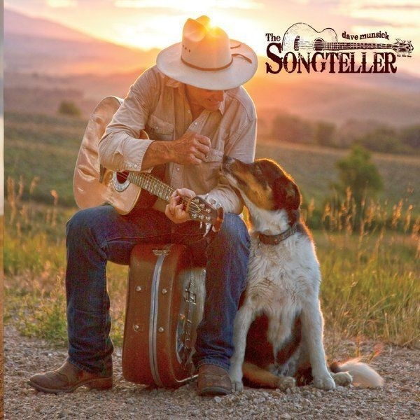 "Dave Munsick // ""The Songteller"" - album cover"