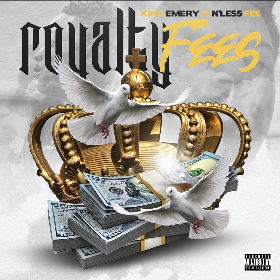 "KiNg EmErY // ""Royalty Fees""- artwork"