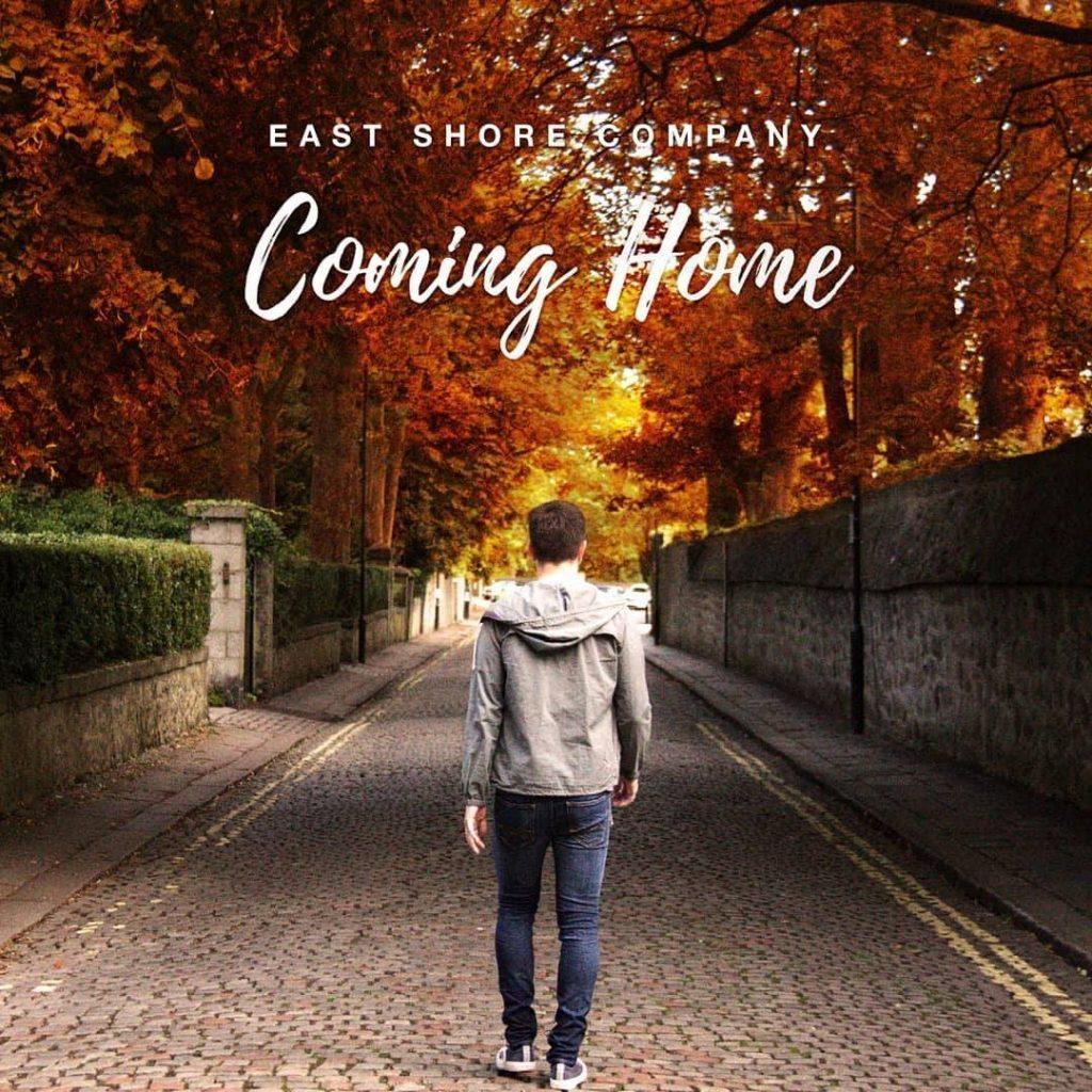 "East Shore Company // ""Coming Home"" - album cover"