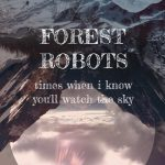 "Forest Robots // ""Times When I Know You'll Watch The Sky"" - album cover"