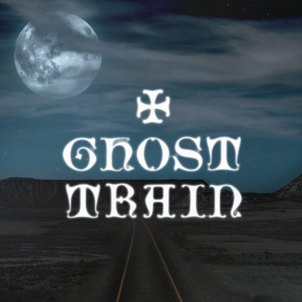 "Mark Henes // ""Ghost Train"" - cover"
