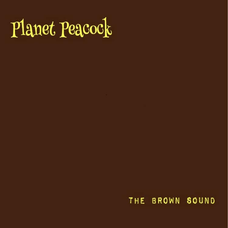 "Planet Peacock // "" The Brown Sound"" - cover"