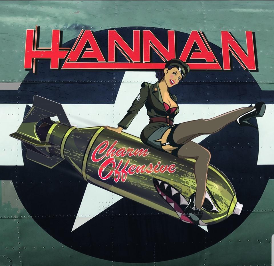 "Hannan // ""Break Me"" - album artwork"