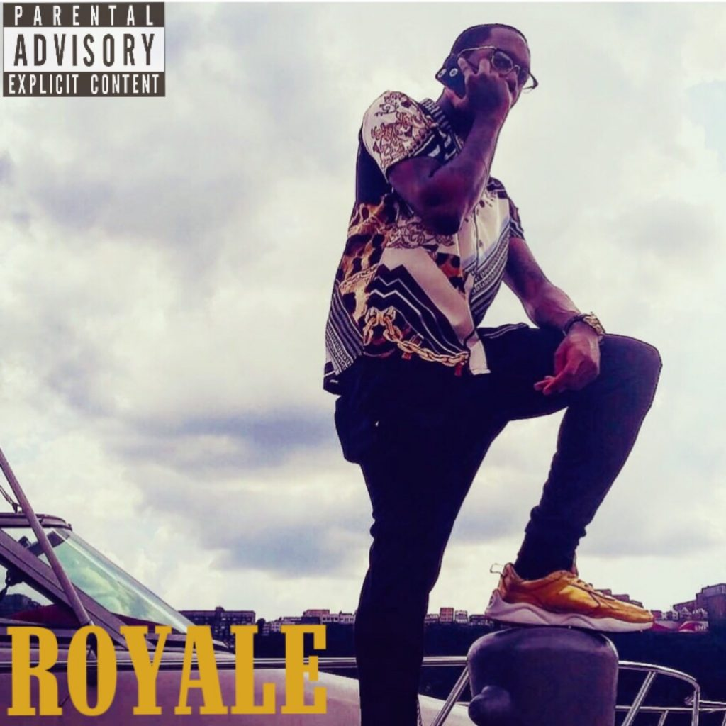 "Ares Knight // ""Royale"" - album cover"
