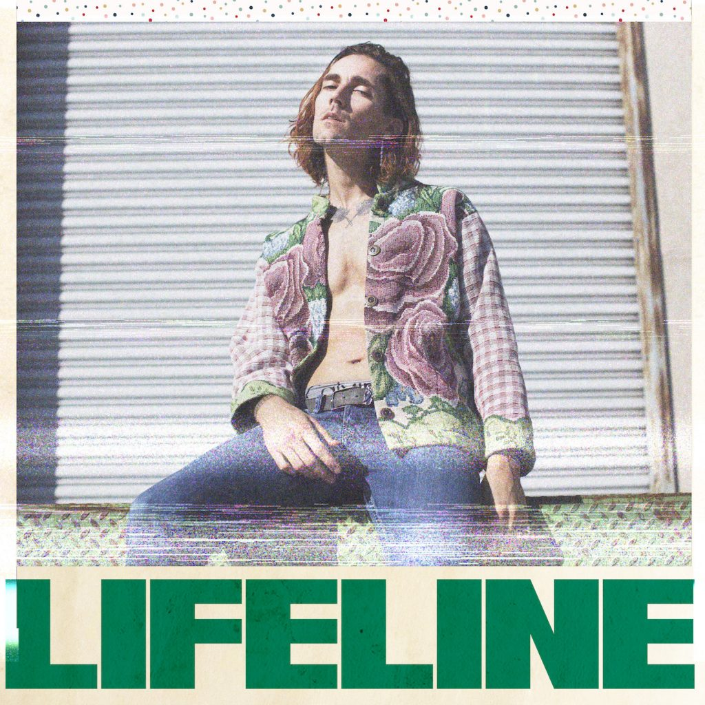"Antony Payne // ""Lifeline"" - single cover"