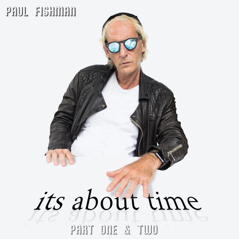 "Paul Fishman // ""It's About Time part One"" - album cover"