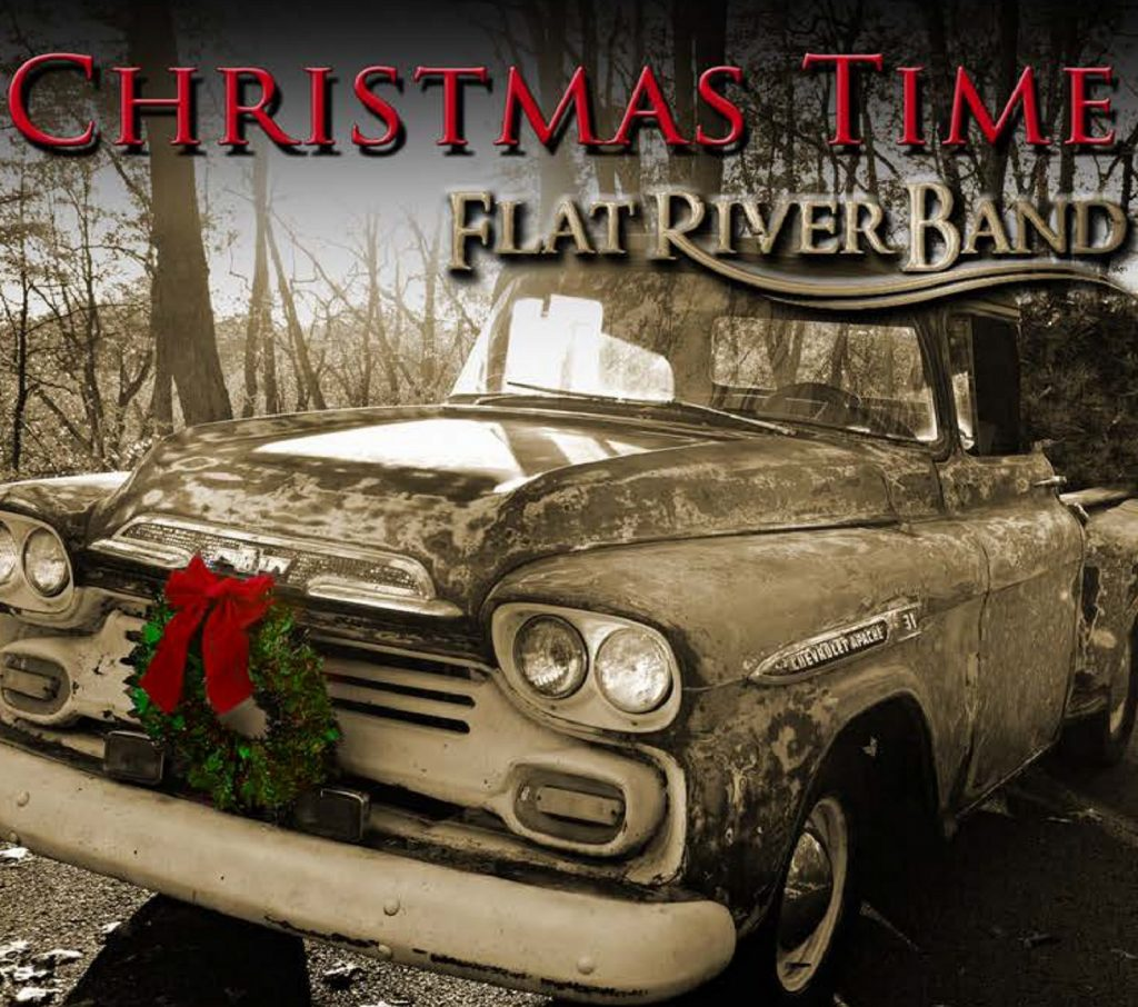 "Flat River Band // ""Christmas Time"" - album cover"