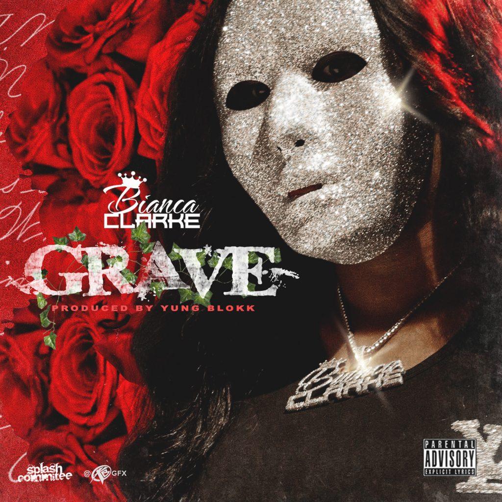 "Bianca Clarke // ""Grave"" - artwork"