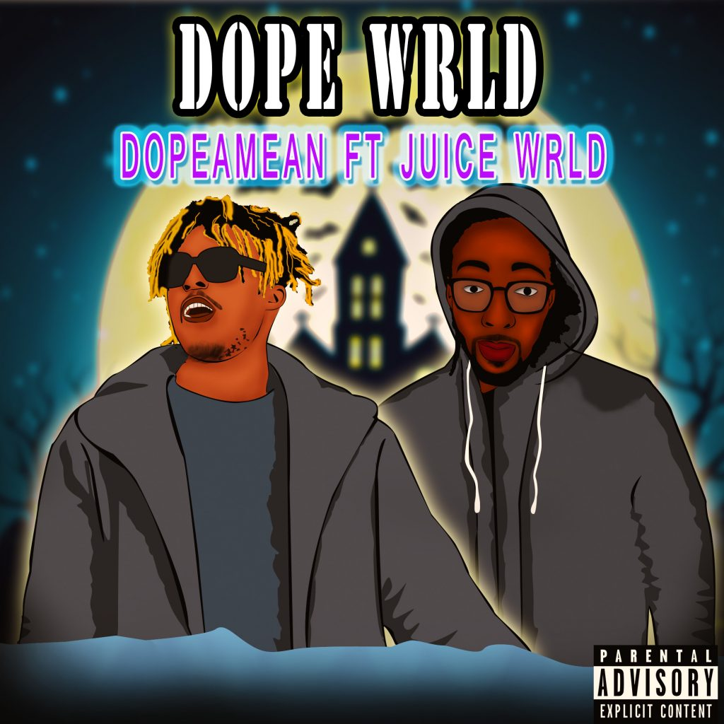 """Dope WRLD"" - album artwork"