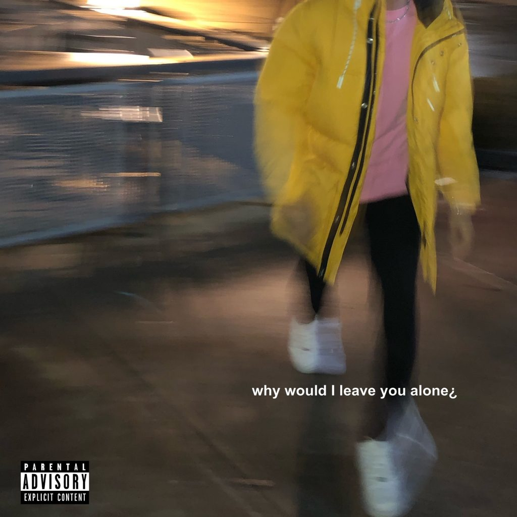 "SFE Tav //""Why Would I Leave You Alone?"" - single cover"