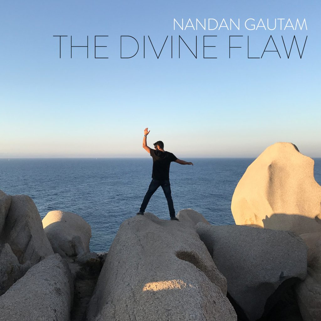 "Nandan Gautam // ""The Divine Flaw"" - album cover"