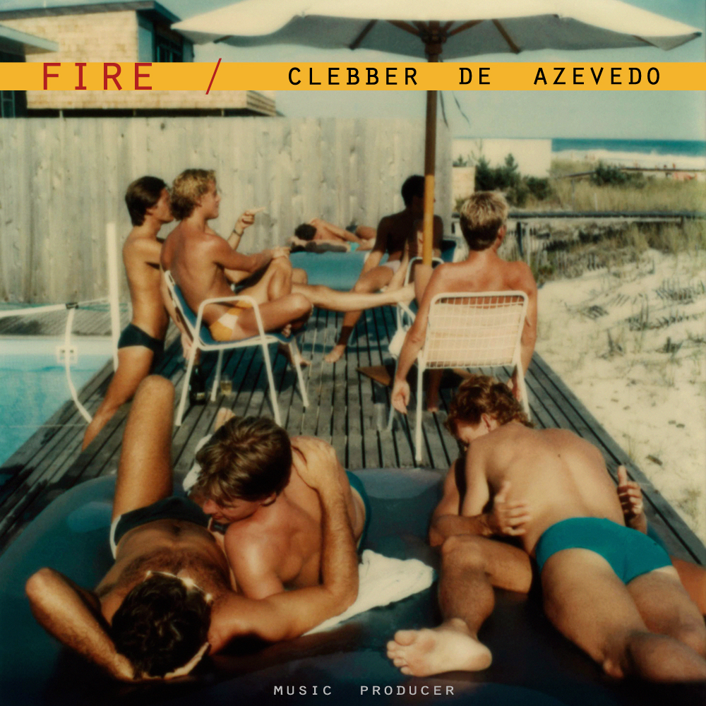 "Clebber de Azevedo / ""Fire"" - single cover"