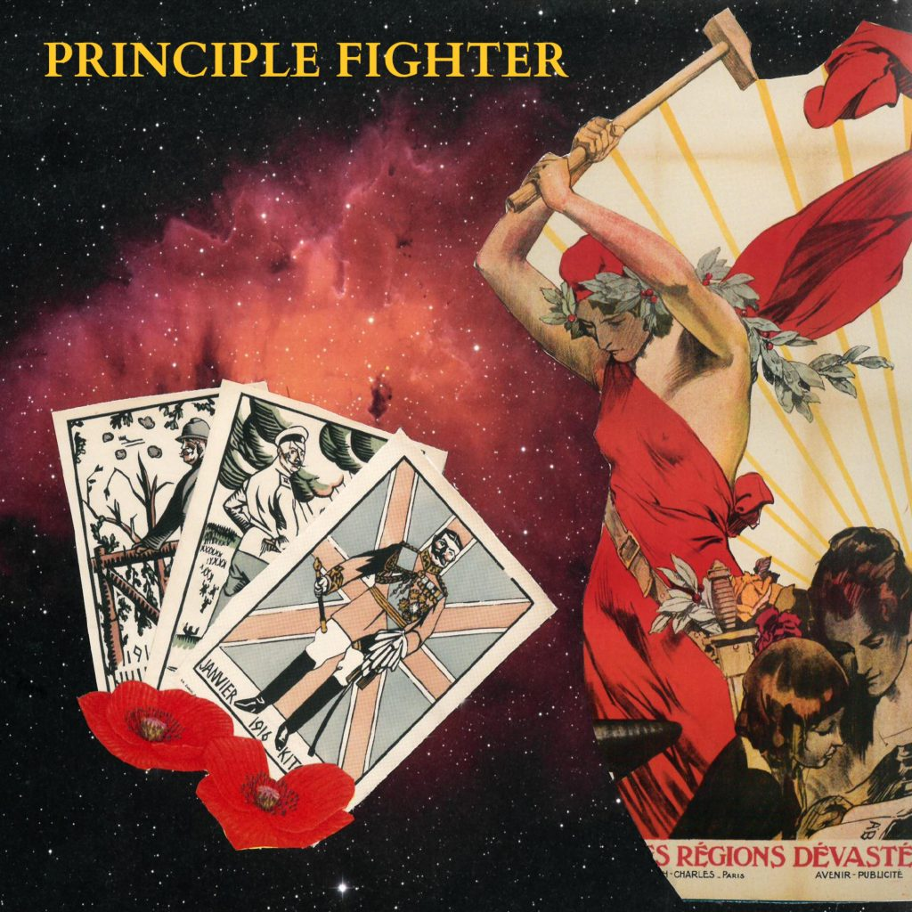 Saints // Principle Fighter - single artwork