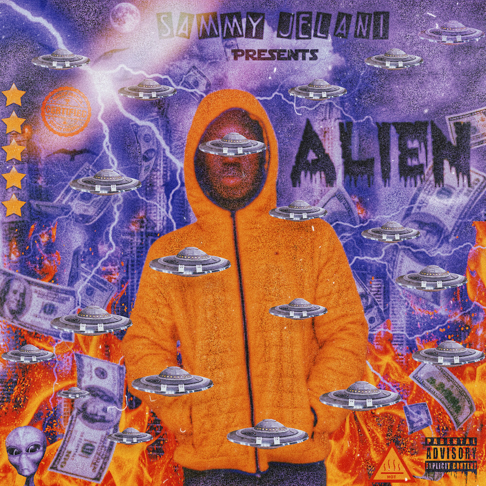 Sammy Jelani // Alien - album artwork