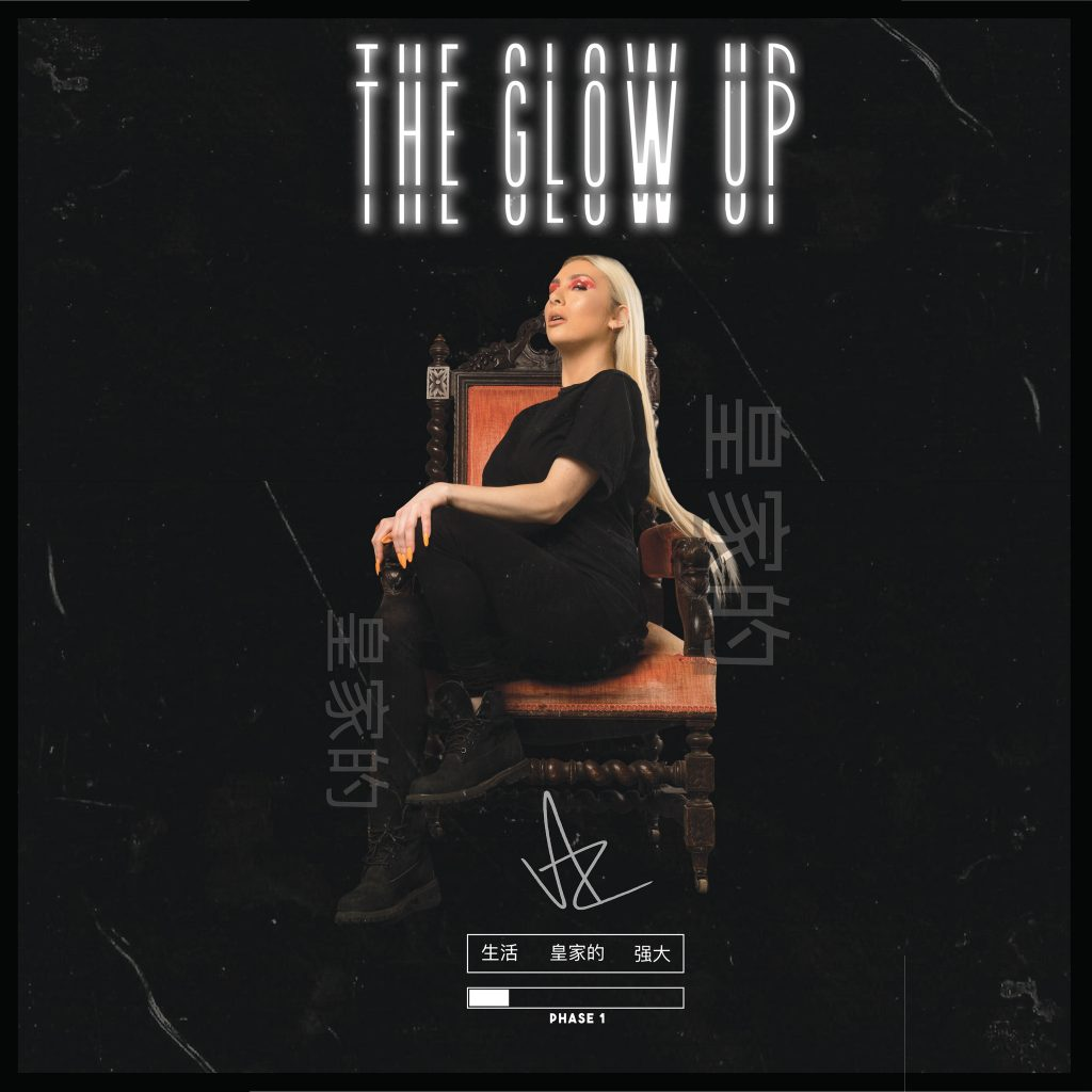 DJ Ažurely // The Glow Up - single cover