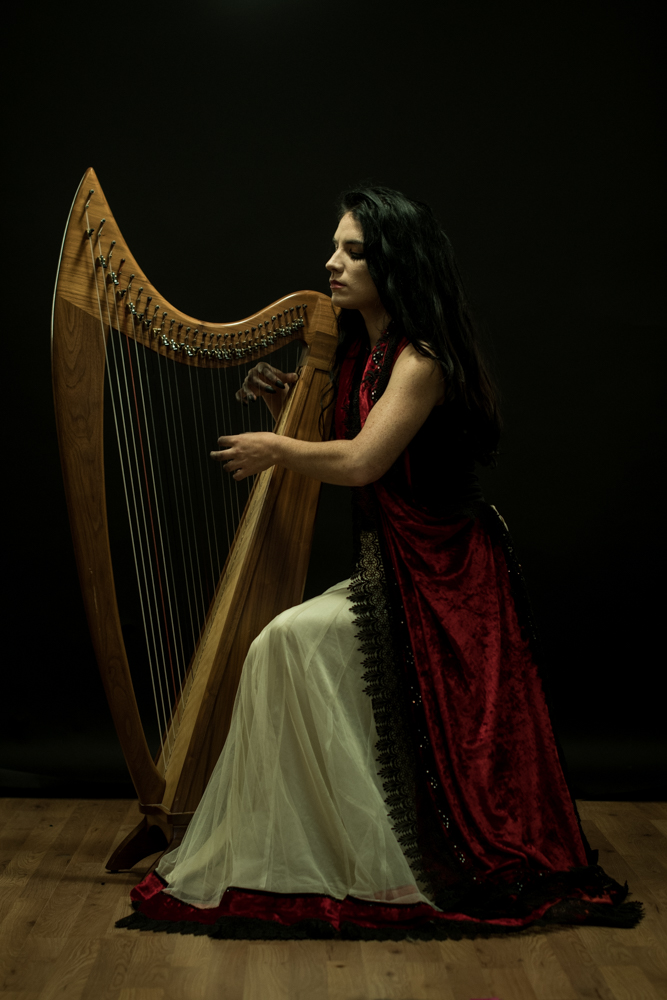 Hana Piranha - Wednesdays Child - harp