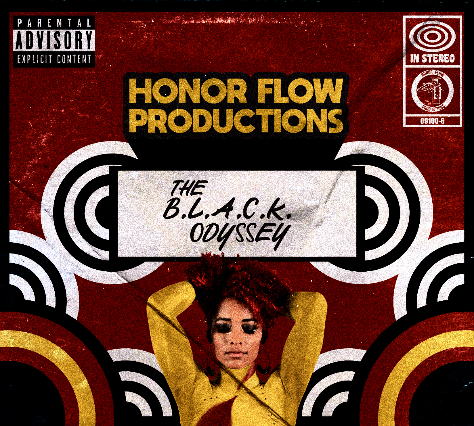 Honor Flow Productions - The B.L.A.C.K. Odyssey - album cover