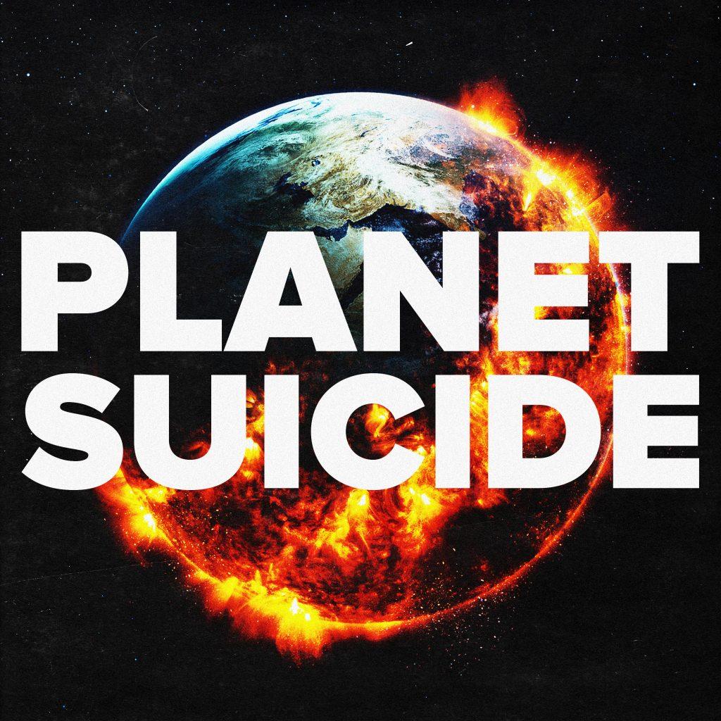 JOHNNY the HOBBY ARTIST // Planet Suicide - single cover
