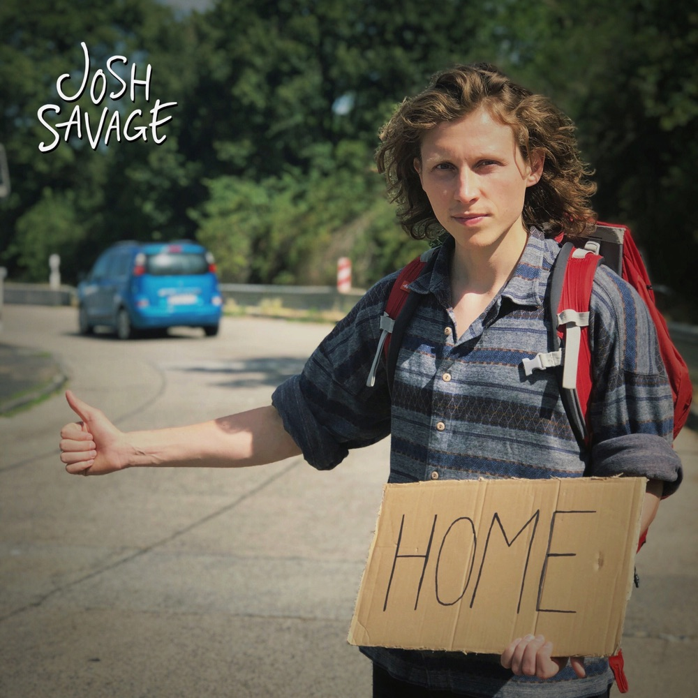Josh Savage // Carry Me Home - single cover