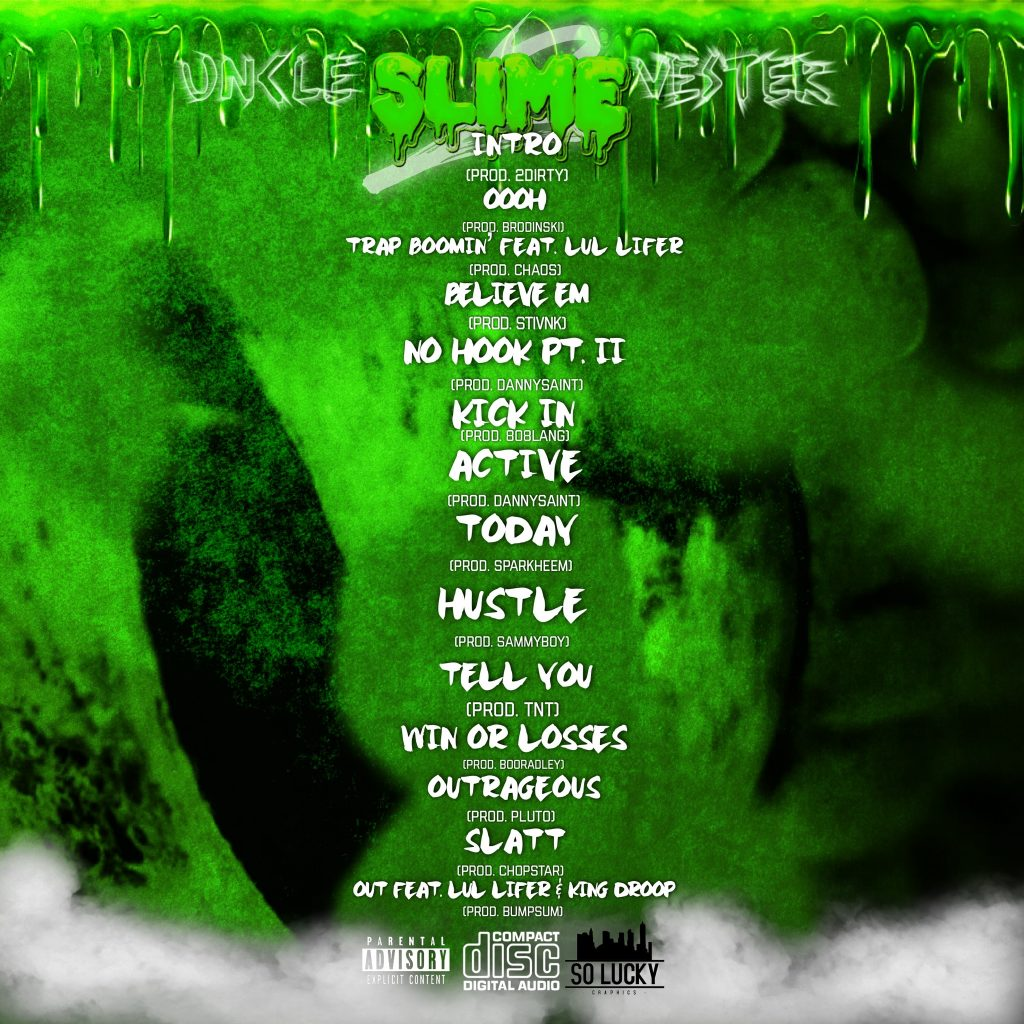 Lil Syl // Uncle $limevester 2 - back cover