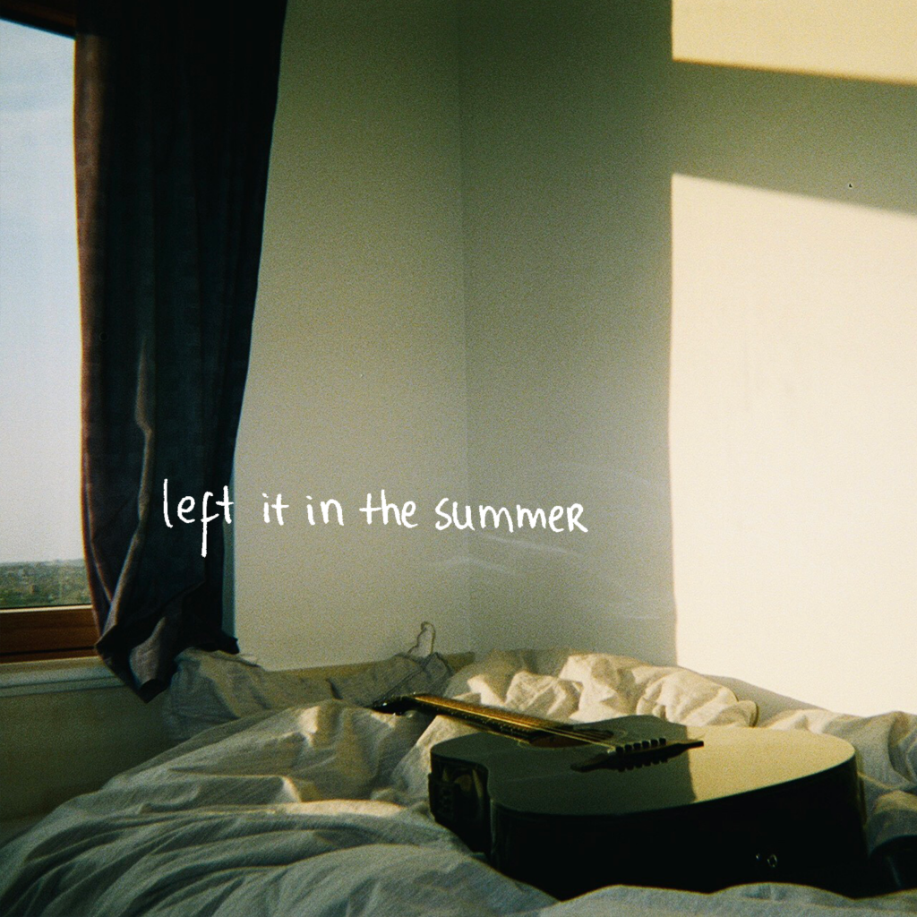 Luís // Left In The Summes - EP cover
