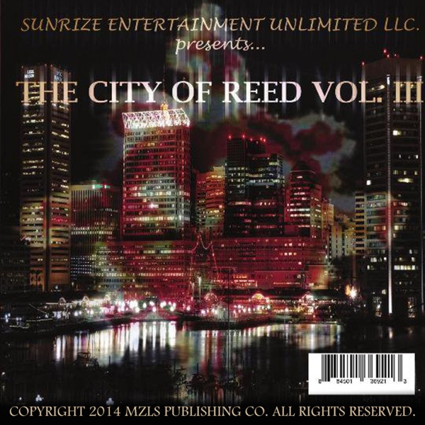 Native Sunz comes - The City of Reed Vol. III - artwork