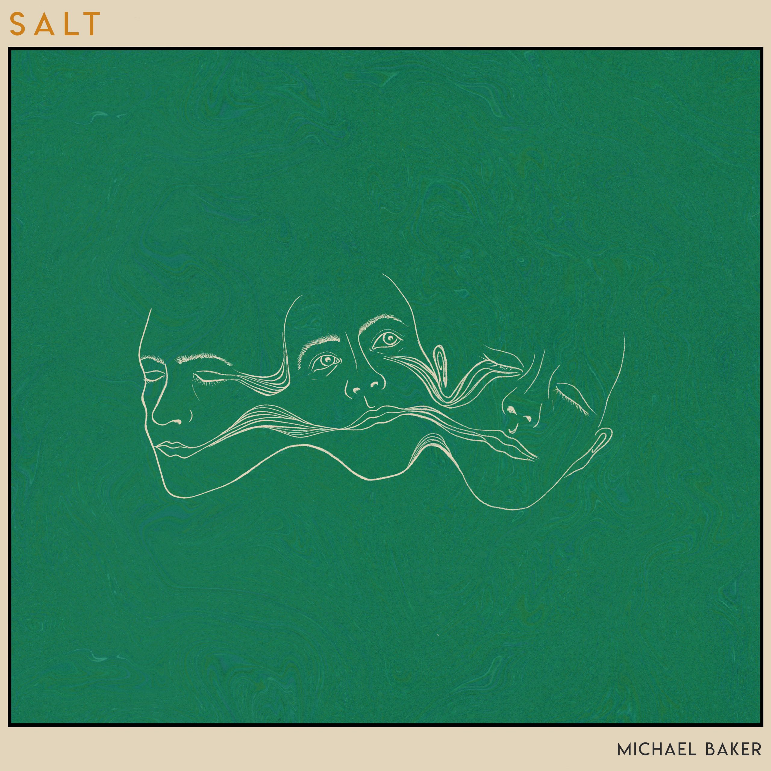 Michael Baker - Salt - Album Front Cover
