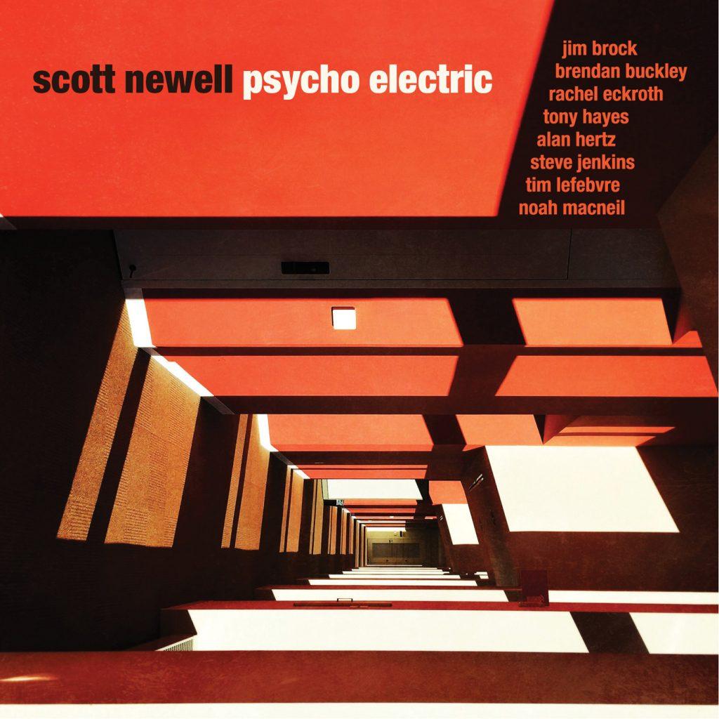 Scott Newell - psycho electric - artwork