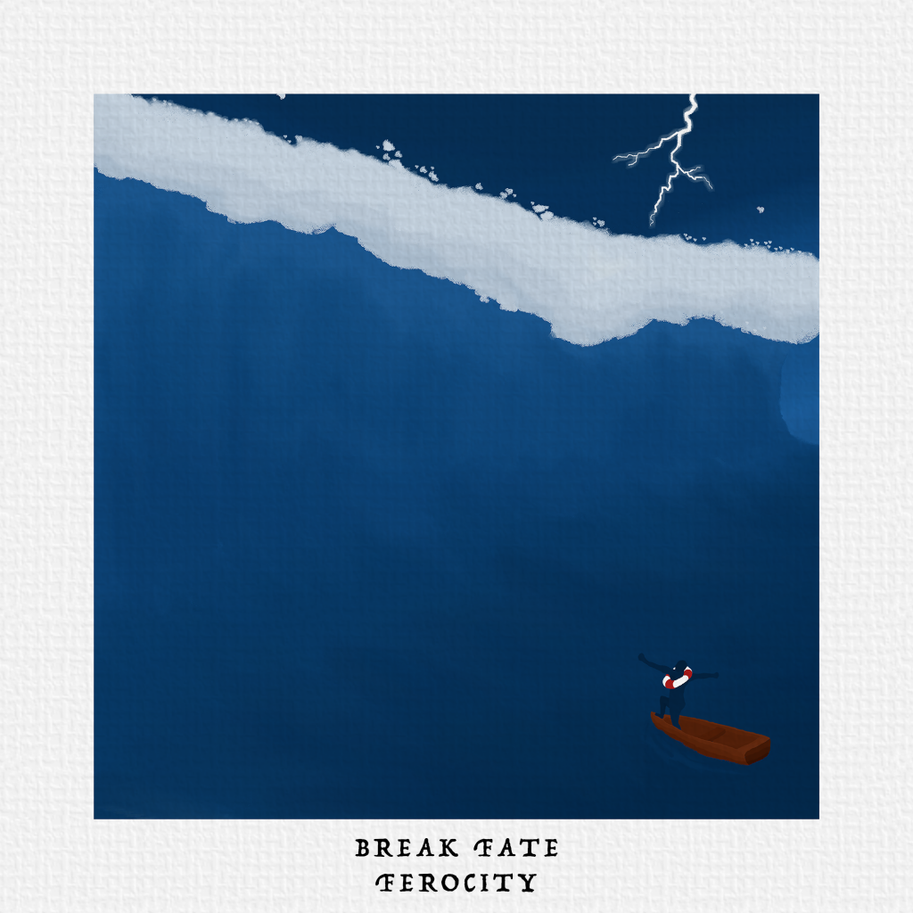 Break Fate // Ferocity - album cover