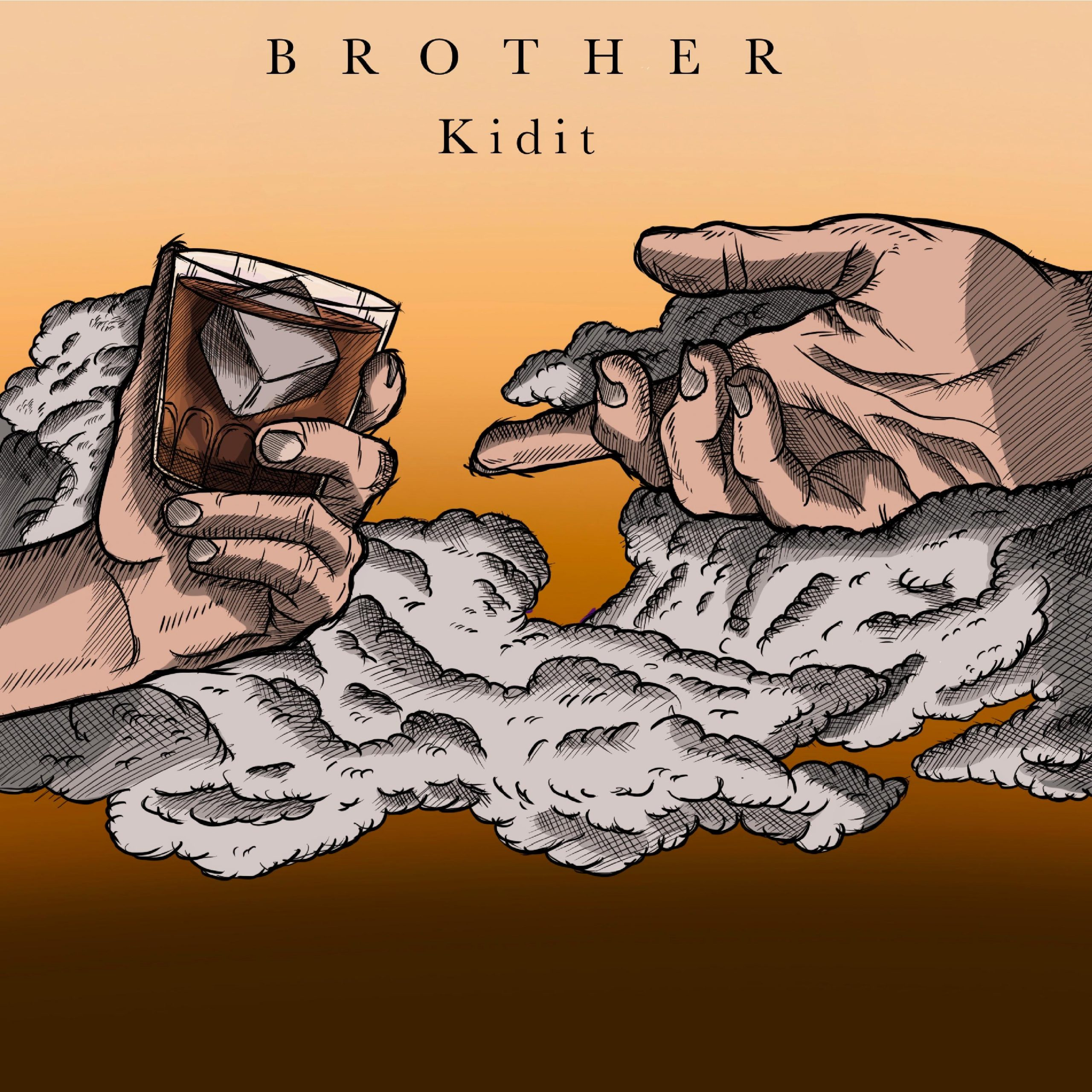 Kidit // Brother - single cover