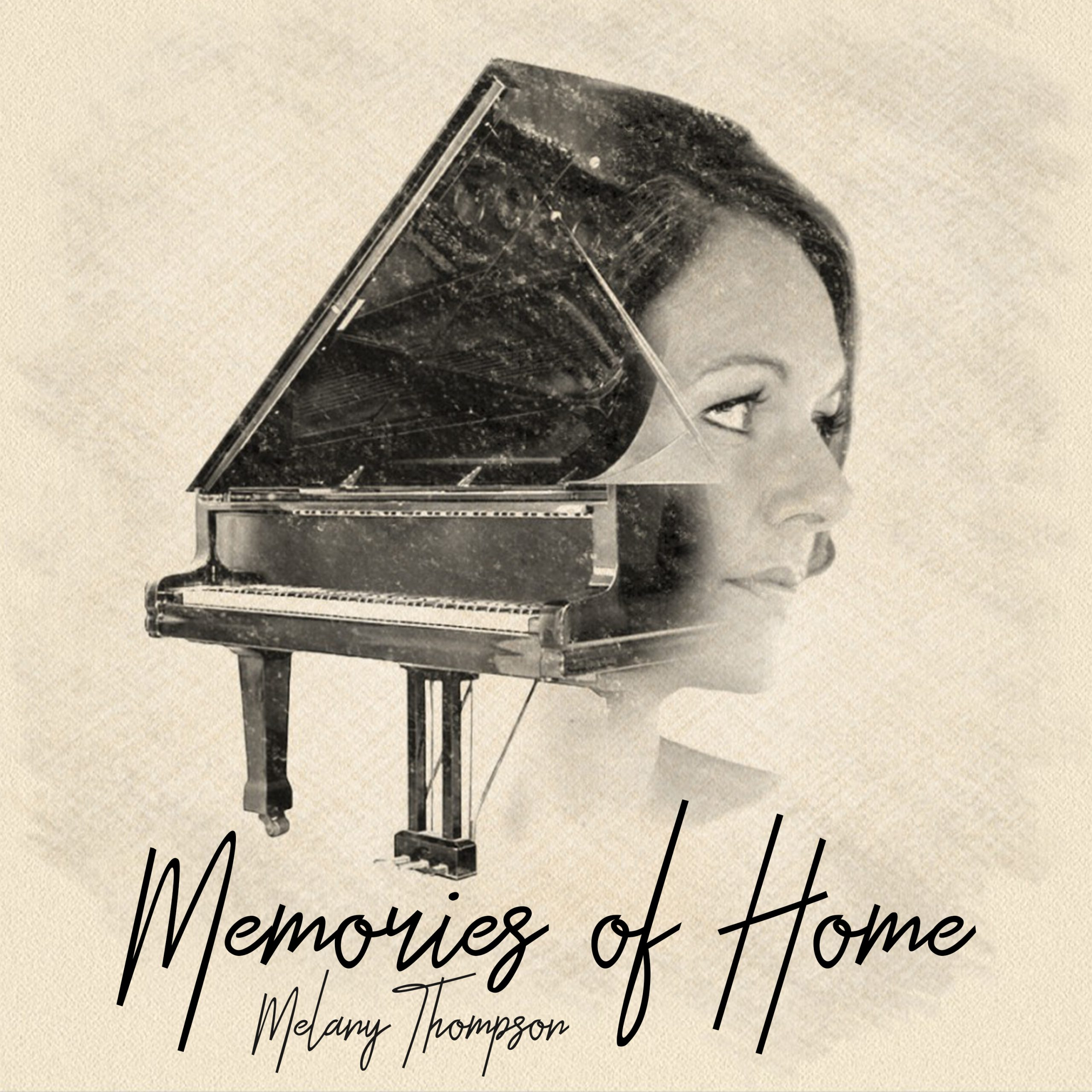 Melany Thompson // Memories Of Home - album cover