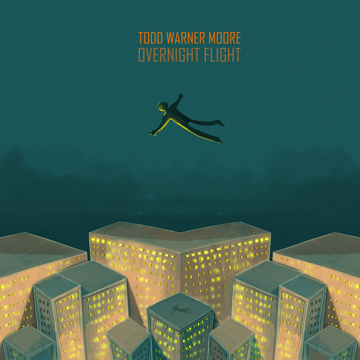 Todd Warner Moore // Overnight Flight - album cover