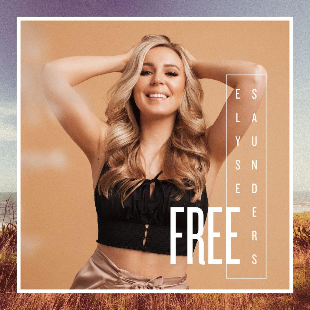 Elyse Saunders // Free - single cover