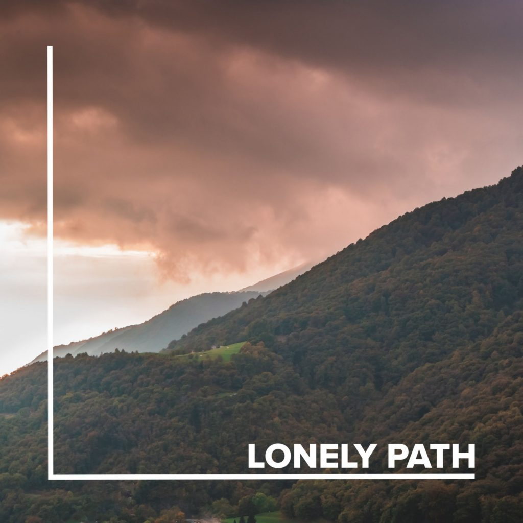 Markus Brückner // Lonely path - EP cover