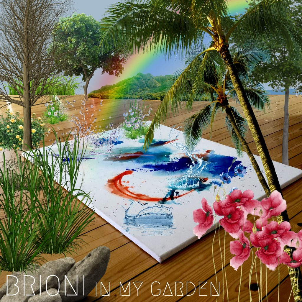 BRIONI // In My Garden - single cover
