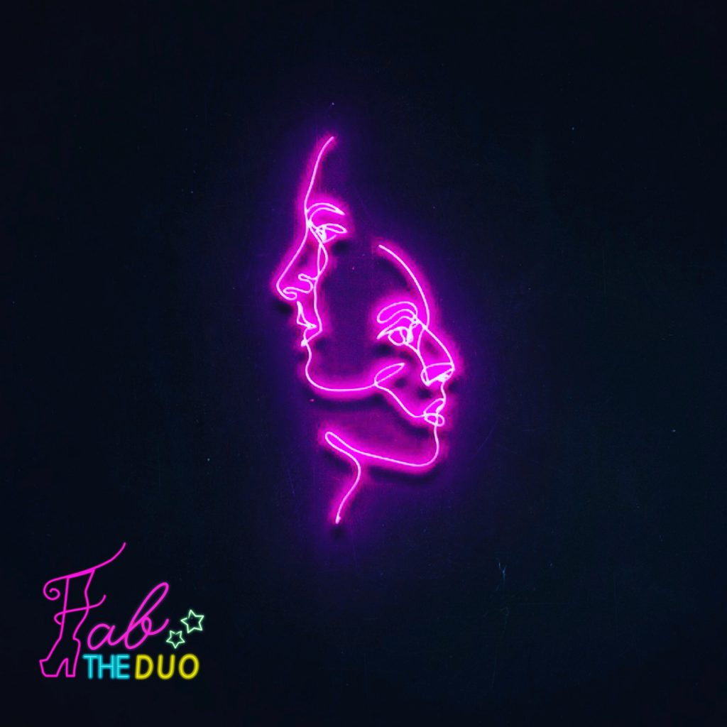 Fab The Duo // Stubborn - single cover