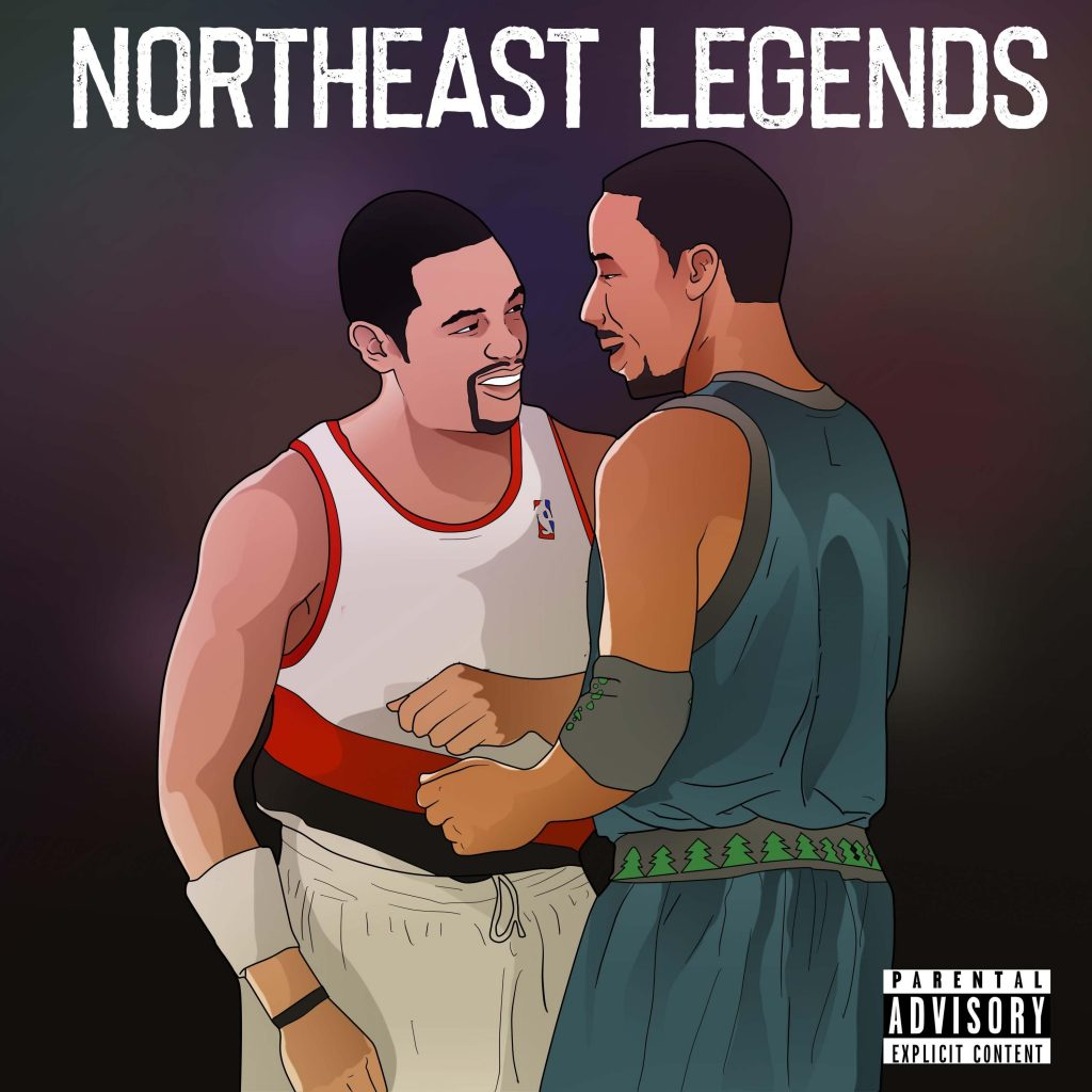 Prxscott // Northeast Legends - EP cover