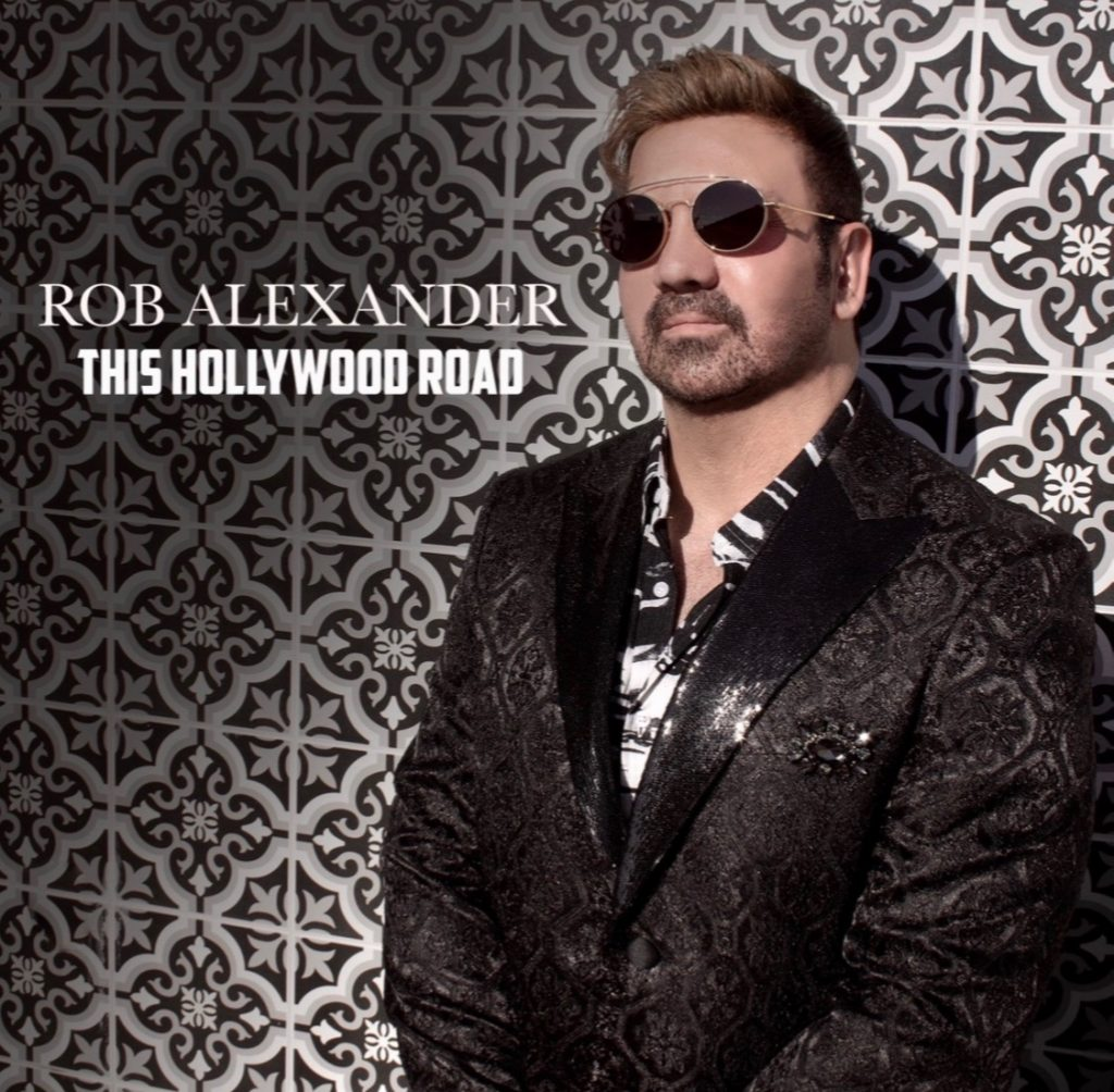 Rob Alexander // This Hollywood Road - single cover