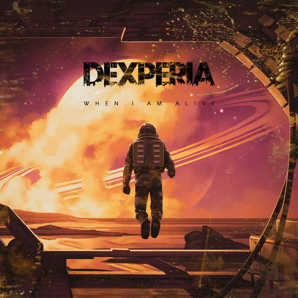 Dexperia // When I Am Alive - single artwork