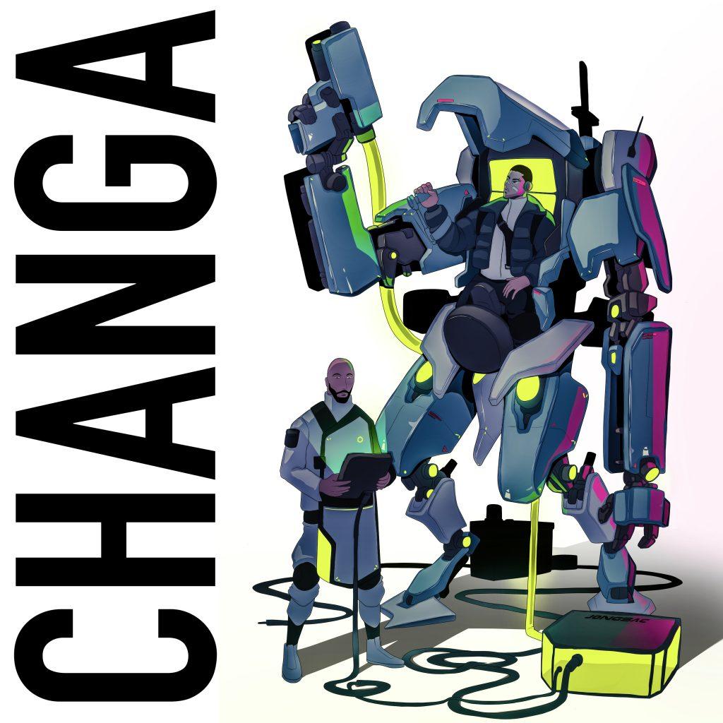Slapvibe // Changa - single artwork