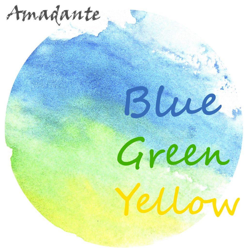 Amadante // Blue Green Yellow - artwork
