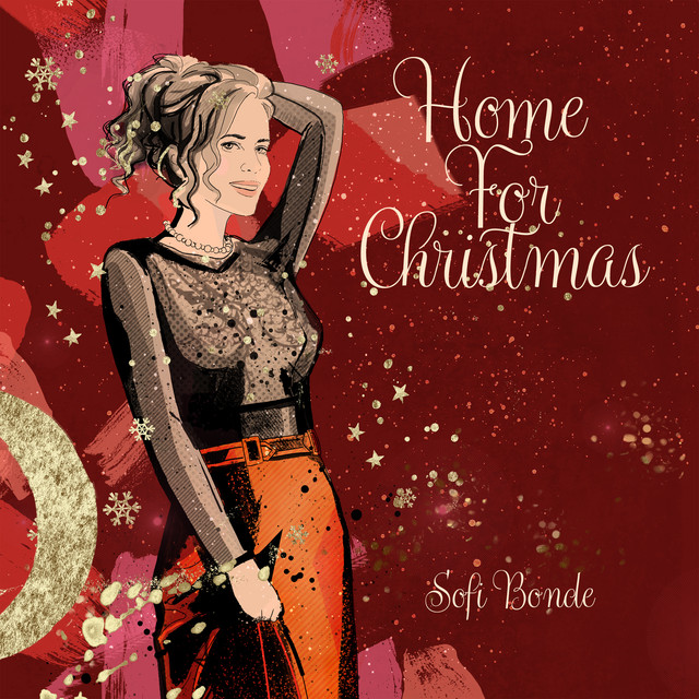 Sofi Bonde // Home For Christmas - single cover