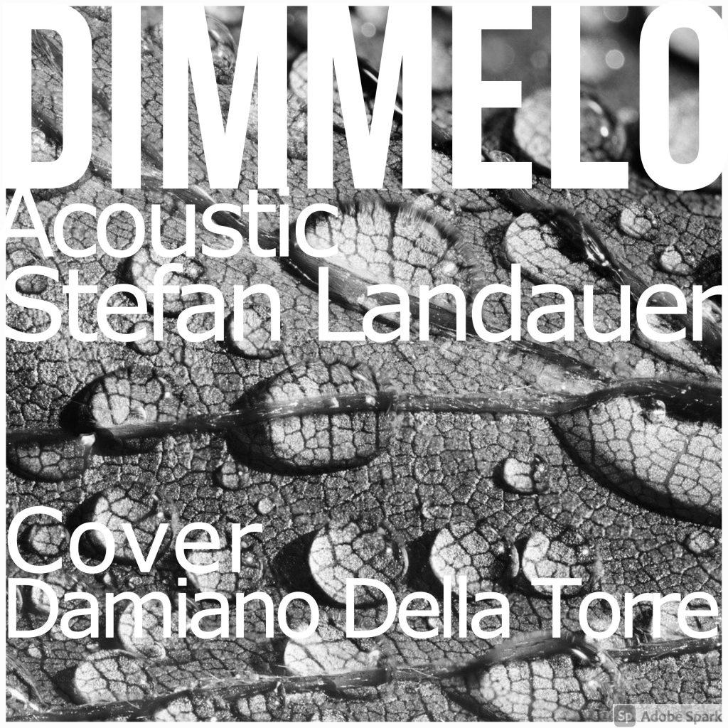 Stefan Landauer // Dimmelo ft. Damiano della Torre - single cover