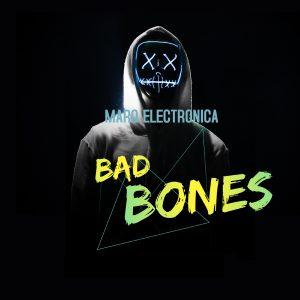 Marq Electronica // Bad Bones - single cover artwork
