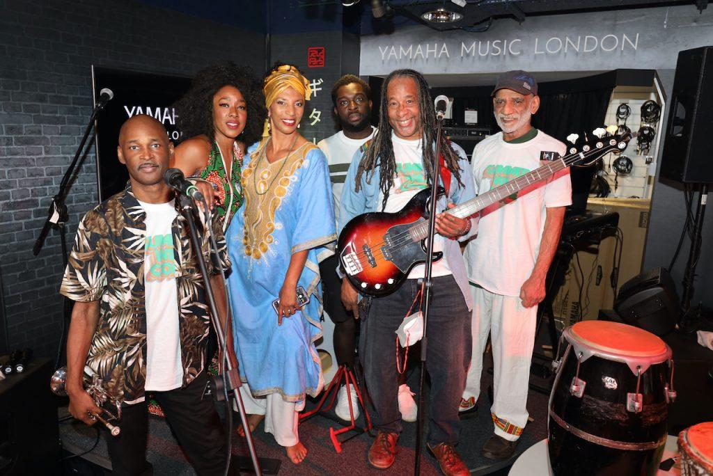 Osibisa, the band at Yamaha Music London