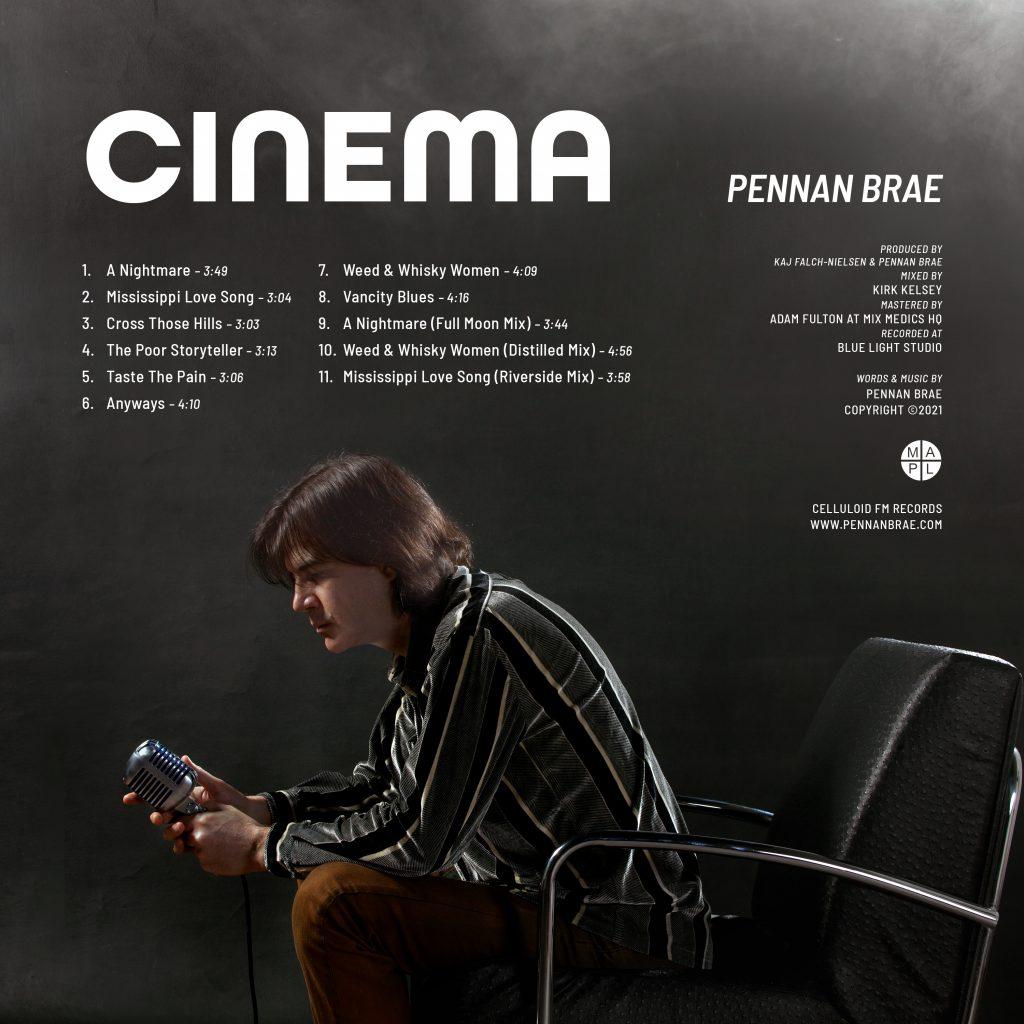 Pennan Brae // Cinema - album back cover