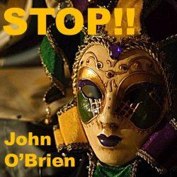 John O'Brien - STOP!! - single cover artwork