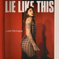 Julia Michaels // Lie Like This, single cover